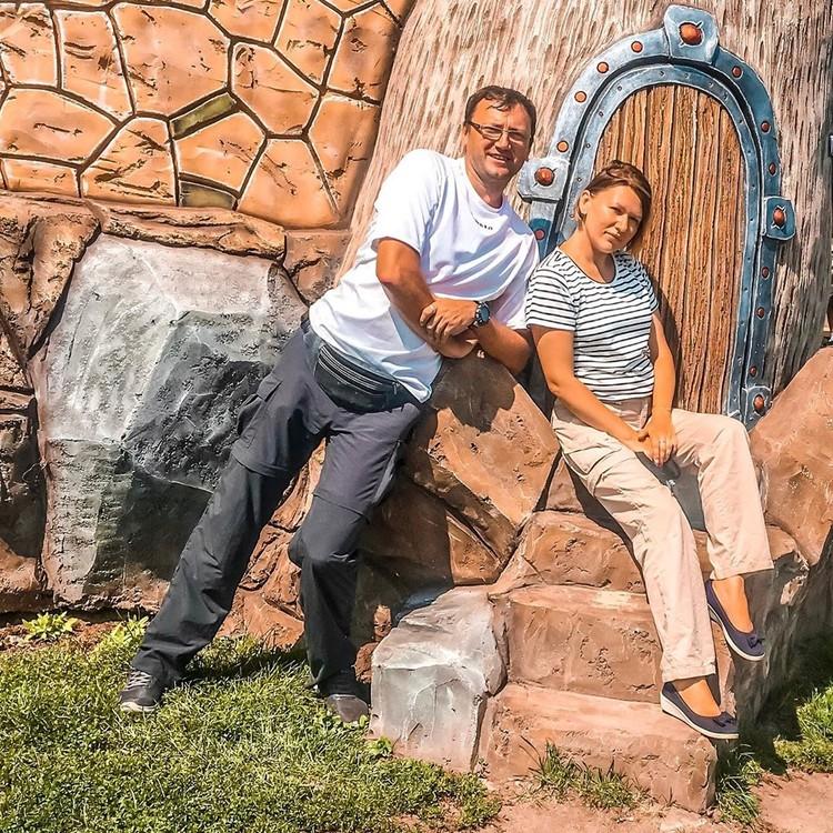 Ринат Арифулин с женой Татьяной