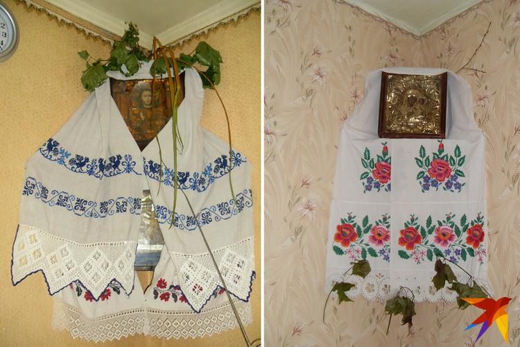 Покуть украшали рушниками, хранили там иконы и освященные в церкви травы. Фото: Татьяна КУХАРОНАК