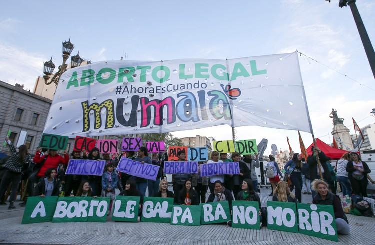 Протесты за легализацию абортов.