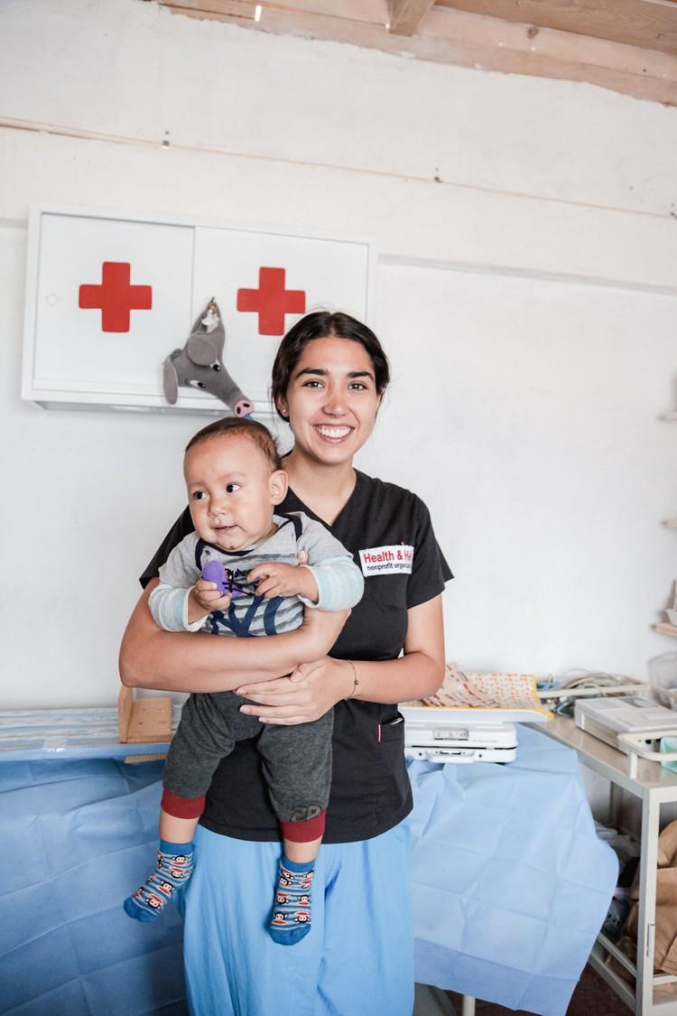 Медсестры из Чили считаются лучшими в Америке. Фото: личный архив.