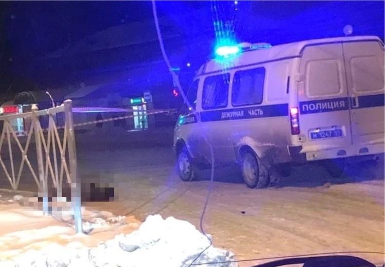 """Фото с места, где убили женщину. Фото из группы """"Гайва Live"""""""