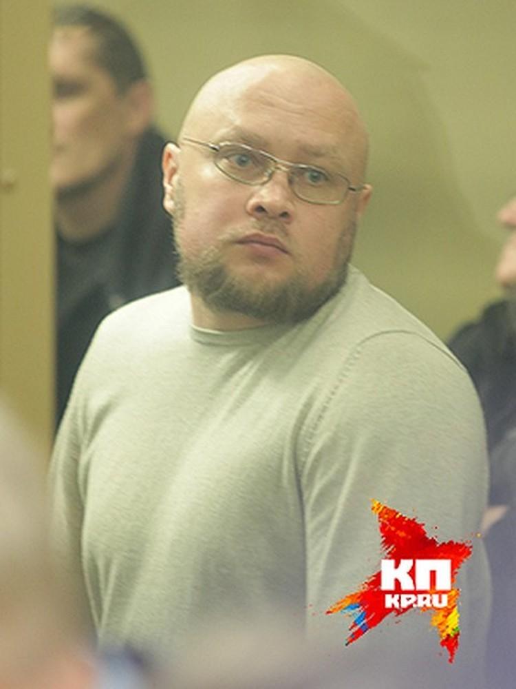 Владимир Запорожец в суде, ему дали 20 лет колонии