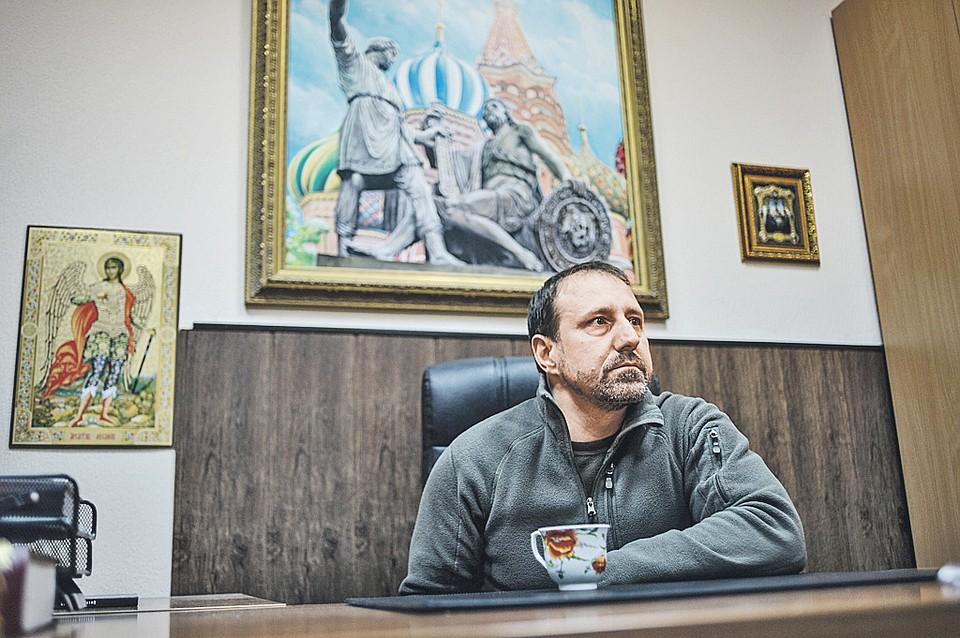 Александр Ходаковский,последний из командиров «первой волны»: «Уйду с Донбасса только с боем». Фото: Виктор ГУСЕЙНОВ