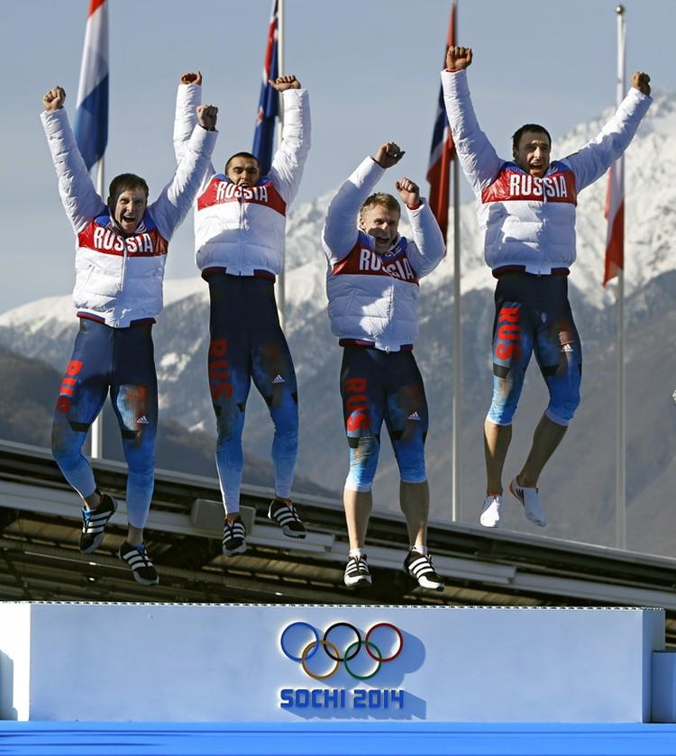 Бобслеист Дмитрий Труненков на Олимпиаде в Сочи был в экипаже-четверке, выигравшей золото в последний день соревнований.