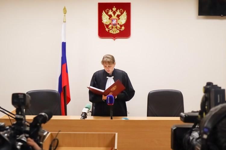 Судья приняла решение об аресте Дмитрия на время следствия.