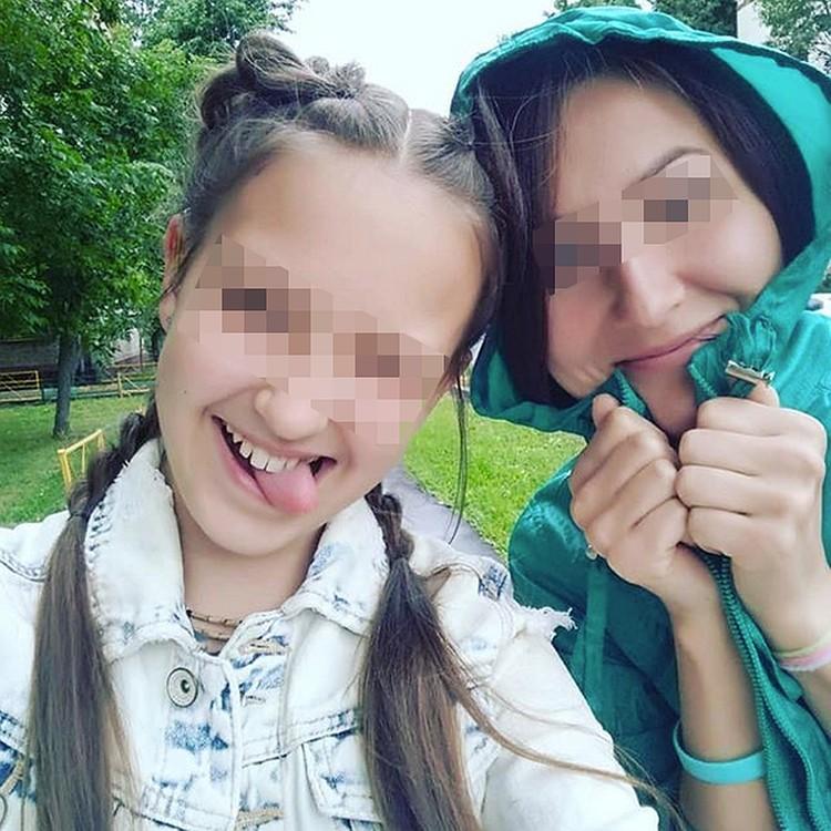 Мила Хейфицева с мамой