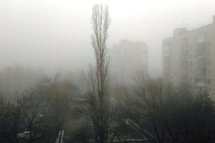 Видимость в тумане была около 200–300 метров.