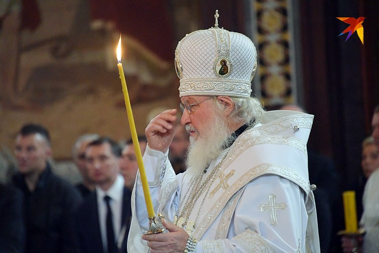 Траурную церемонию отпевания совершил Патриарх Московский и всея Руси Кирилл