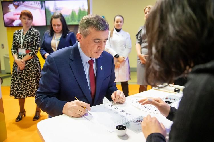 Валерия Лимаренко пригласили на мастер-класс. Фото предоставлено пресс-службой правительства Сахалинской области.