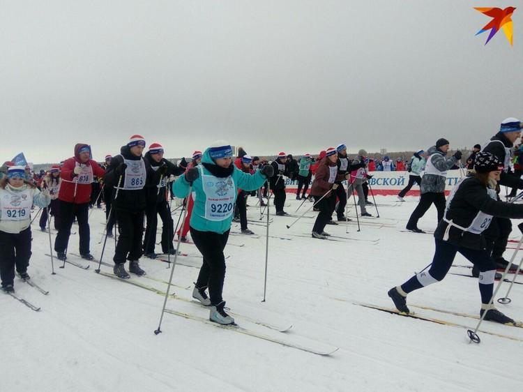 Лыжный сезон в Саратовской области стартовал