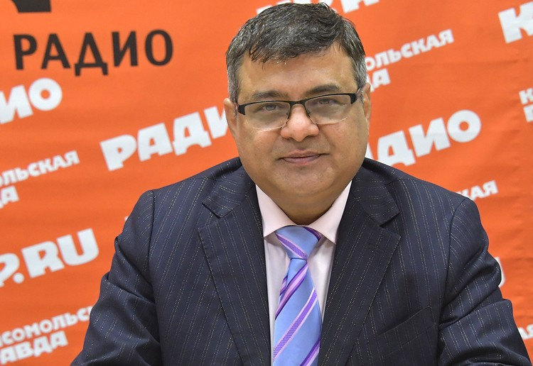 Глава компании «Императорский портной» Семми Котвани.