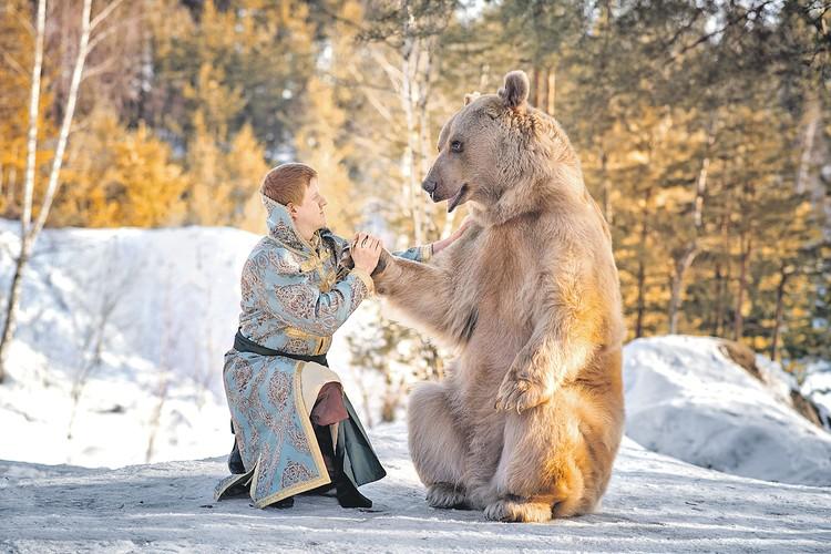 - Ты, Иван, что в моем лесу делаешь, откуда пришел? - Да я, Миша, здесь коренной, как и ты.