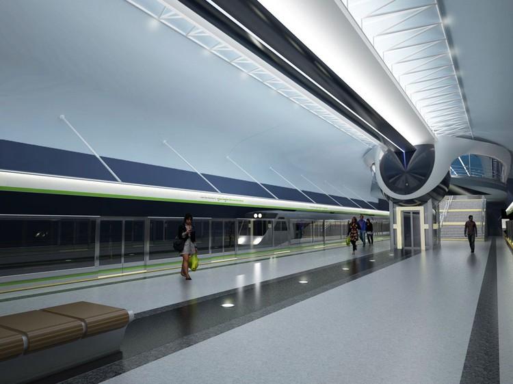 Открытие станции Аэродромная ожидают к 2023 году
