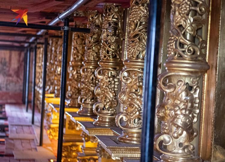 Алтарь Смоленского сбора почти готов. Скоро здесь появятся иконы.