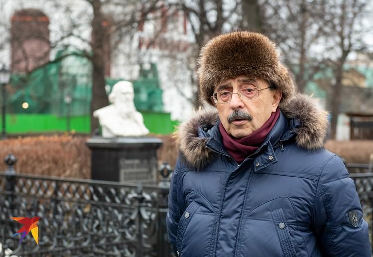 Андрей Баталов, профессор, искусствовед, руководитель наблюдательного совета при Министерстве Культуры по восстановлению Новодевичьего монастыря