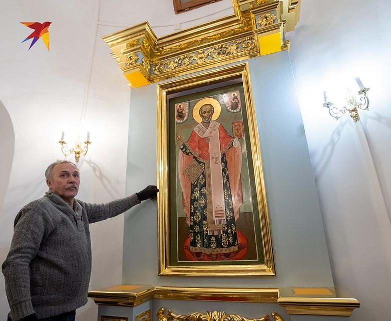 Часть икон монастыря были восстановлены, часть написаны заново Фото: Михаил ФРОЛОВ