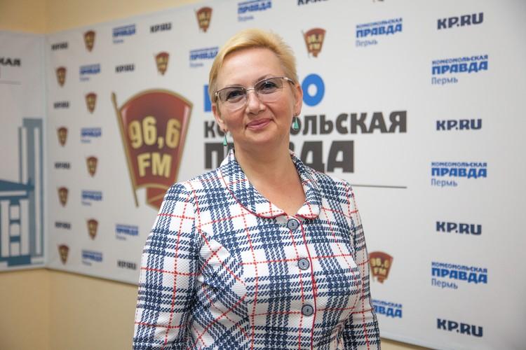 Уполномоченный по правам ребенка в Пермском крае Светлана Денисова