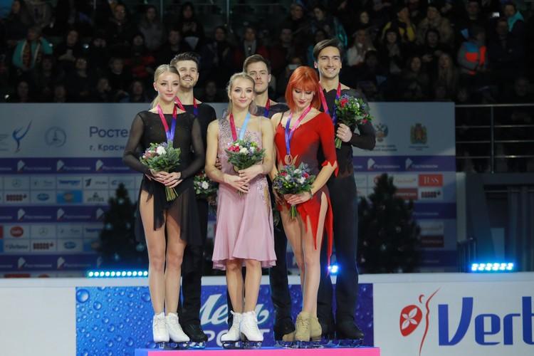 Все три пары на чемпионате представляли Москву