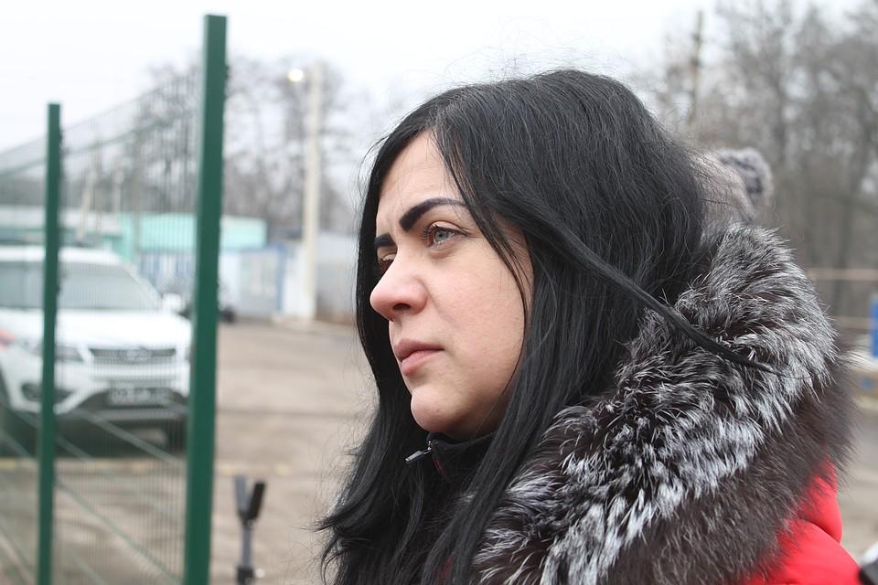 Одна из двух женщин, которые предпочли остаться в Донецке и отказались от обмена Фото: Никита МАКАРЕНКОВ, Павел ХАНАРИН