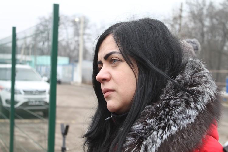 Одна из двух женщин, которые предпочли остаться в Донецке и отказались от обмена
