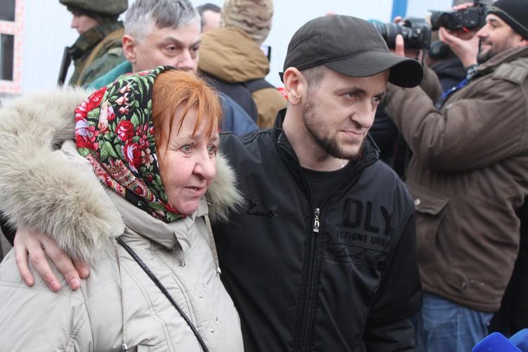 Галина Васильевна спустя больше чем пять лет встретилась с сыном!