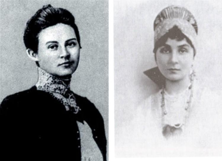 Софья Колчак (слева) и Анна Тимирева