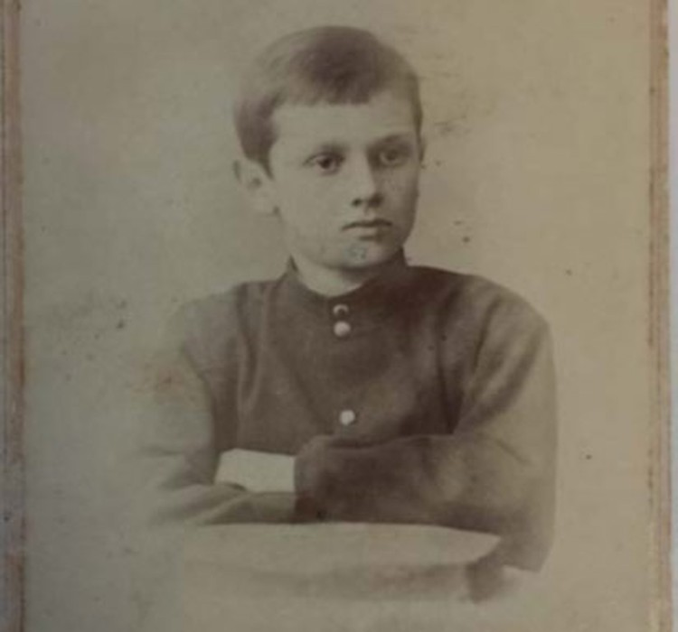 12-летний Колчак, 1886 г.