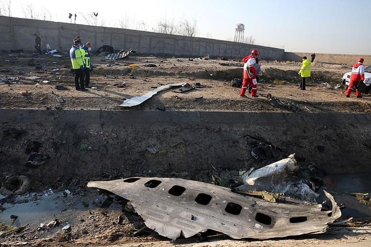 Самолет следовал в Киев