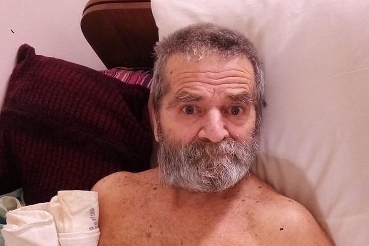 Рустем Муратов три года прожил в одной из севастопольских больниц./ Фото: ГКУ «Севастопольский городской комплексный центр социального обслуживания»