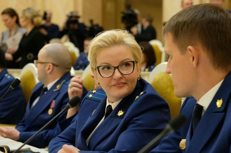 Сотрудники прокуратуры Петербурга празднуют годовщину