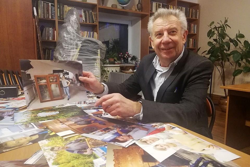 Создатель и директор бизнесинкубатора радуется успехам своих подопечных, как своим собственным Фото: Ольга ШУМАНСКАЯ