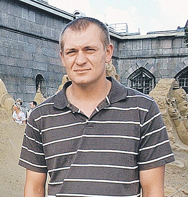 Водитель Николай Сурнаков.