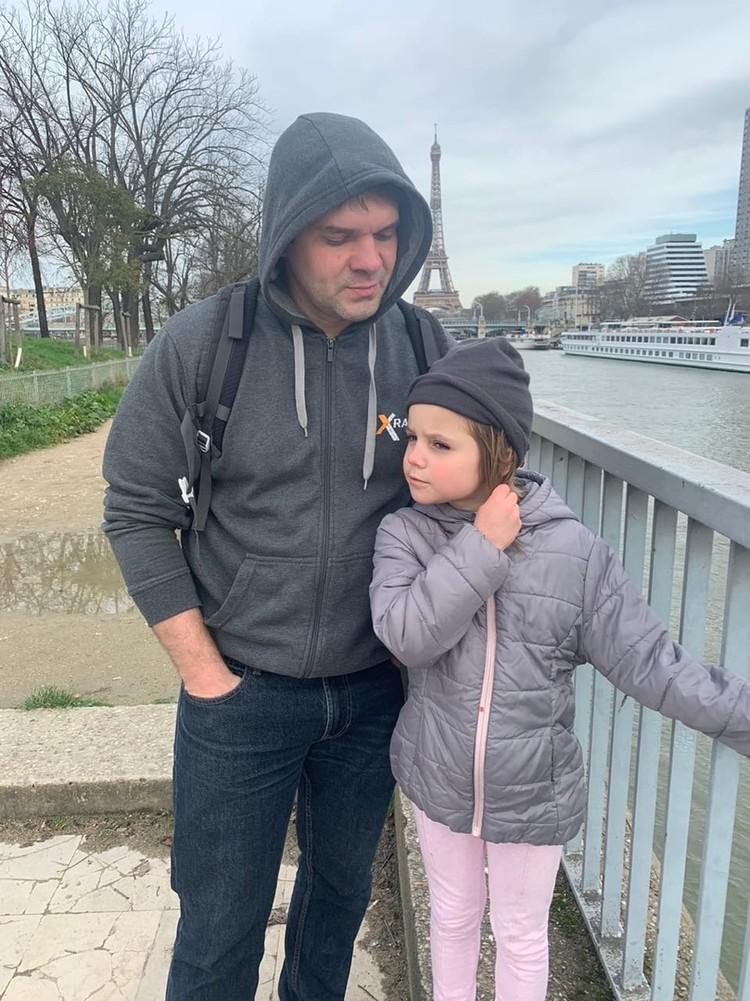 Житель села Подстепки - любящий отец