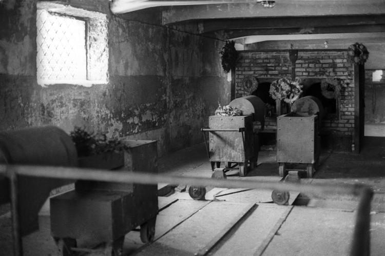 Печи крематория в Освенциме. Фото Валерия Генде-Роте (Фотохроника ТАСС)