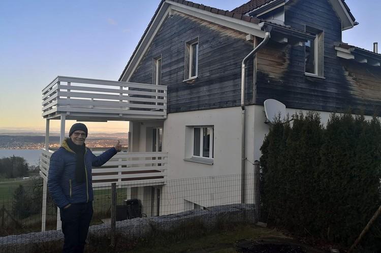 В этом дома будут жить семья Ольги