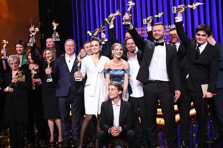 В Москве состоялась церемония кинопремии «Золотой орёл»