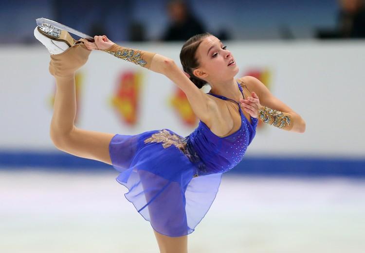Анна Щербакова - вице-чемпионка Европы.