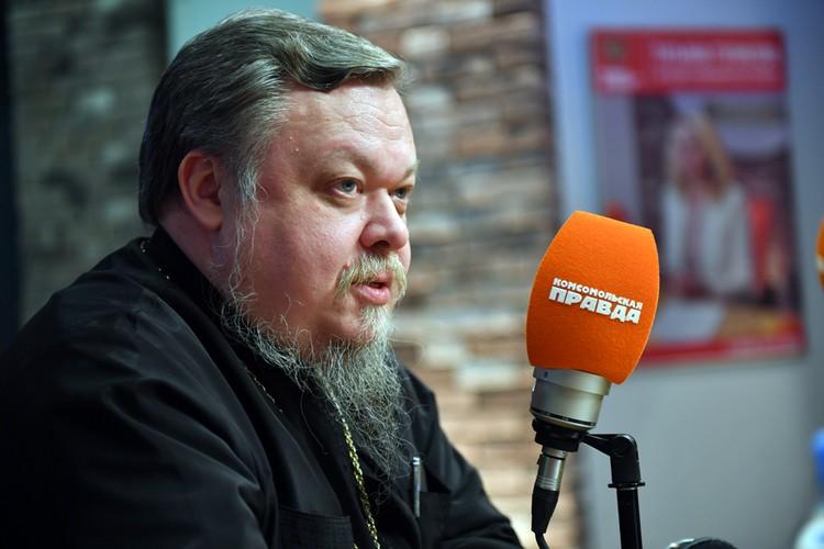 Он приходил на Радио «Комсомольская правда»