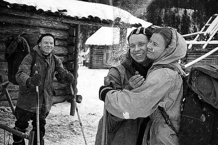Поиски погибших туристов продолжались три месяца. ФОТО из архива фонда памяти группы Дятлова.