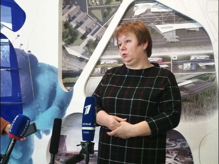 Ректор ТИУ Вероника Ефремова