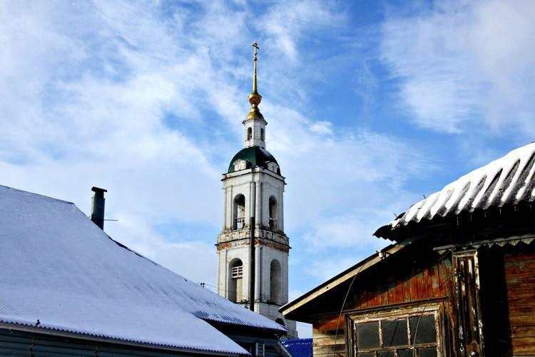 Гаврилов Посад. Церковь Николая Чудотворца