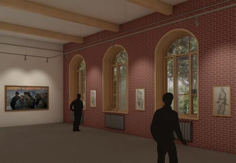 План выставочного зала Фото: предоставлено музеем
