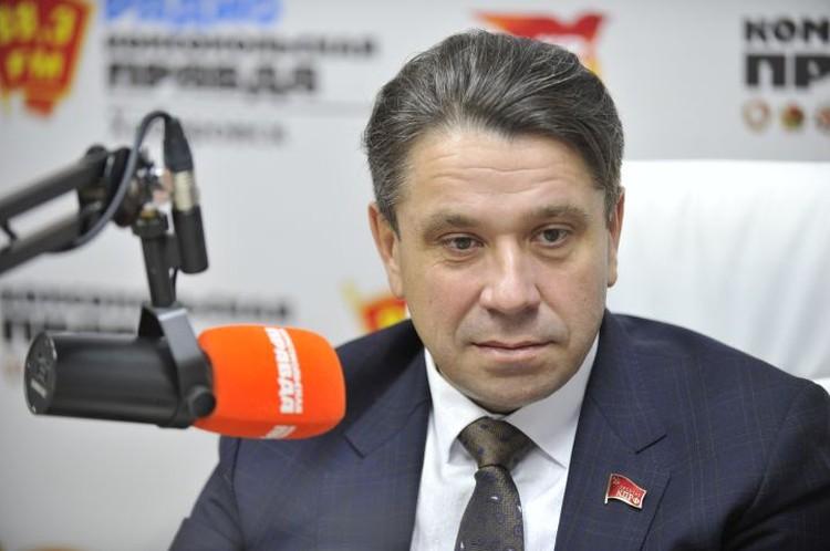 Петр Перевезенцев, первый секретарь Хабаровского краевого отделения КПРФ