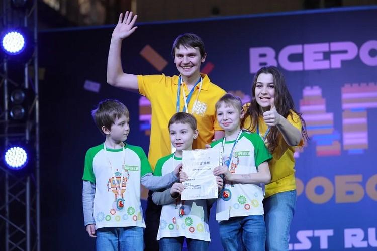 Для некоторых участников первый успех - это Красноярск!