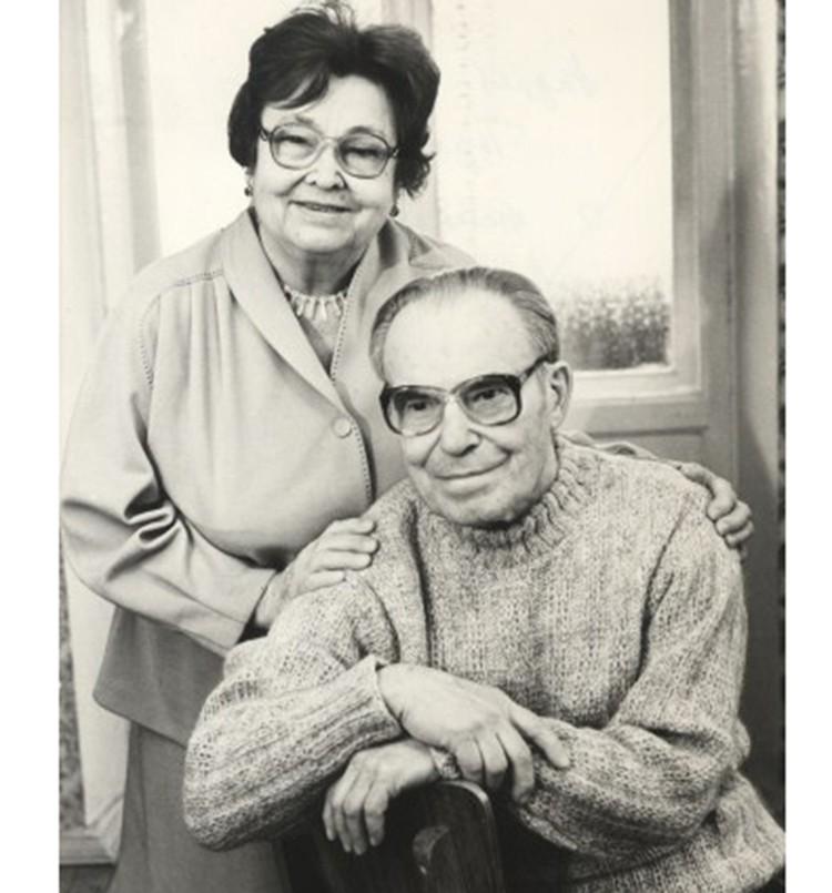 Амина и Андрей Трофимуки прожили вместе полвека. Фото: СО РАН