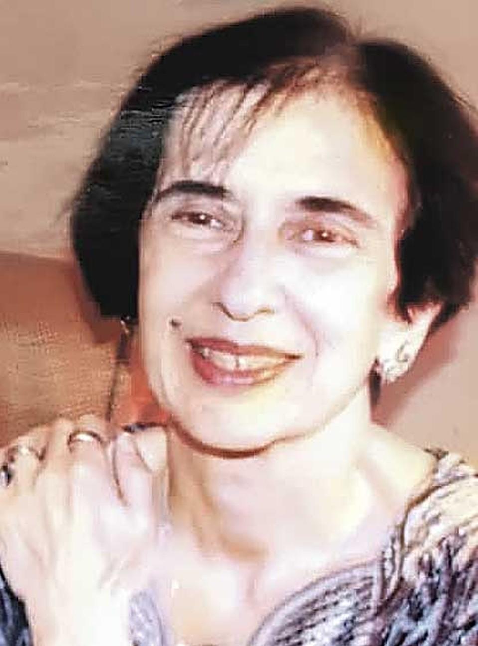 Галина Джугашвили, дочь Мельцер и Джугашвили (1938 - 2007). Фото: Личный архив.