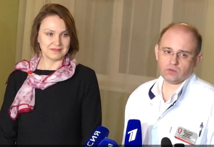 Инна Куликова и Алексей Барадулин рассказали, как прошли эти 14 дней для персонала и пациентов.