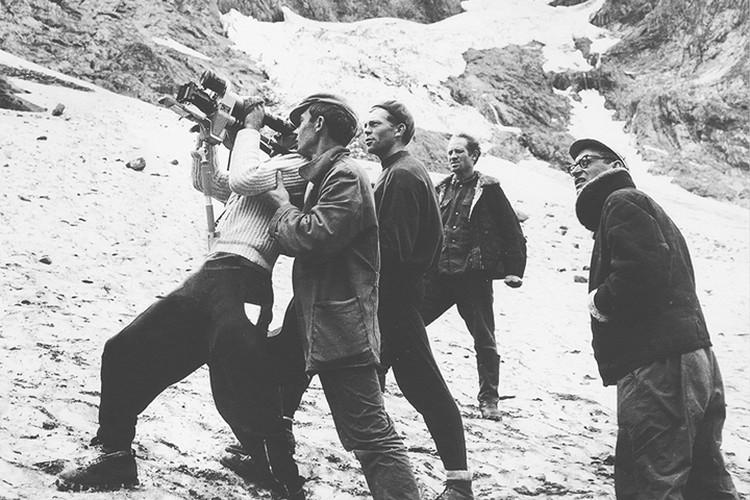 Самой сложной сценой для съемки «Альпийской баллады» Заболоцкий называет спуск лавины. Фото: Личный архив
