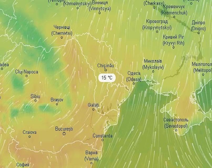 В среду днем ожидается +15 градусов!