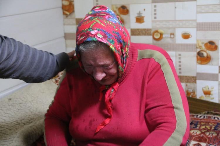 Бабушка рыдает: «Да ради детей я на все готова!»